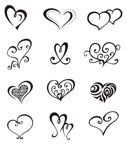 Heart Tattoos Hardcore Hobbies